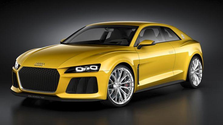 A 30 anni dalla costruzione dell' #Audi #Sport #quattro, costruita negli anni '80 in soli 200 esemplari per poter gareggiare nel #campionato #Rally, la casa tedesca ne celebra l'anniversario presentando la Sport quattro #concept al prossimo #Salone di #Francoforte. Il propulsore sarà un #V8 #biturbo 4 litri da 560 cv, affiancato da un piccolo propulsore elettrico da 110 kW (150 cv); si tratta quindi di un' #ibrida... Leggi l'articolo intero…