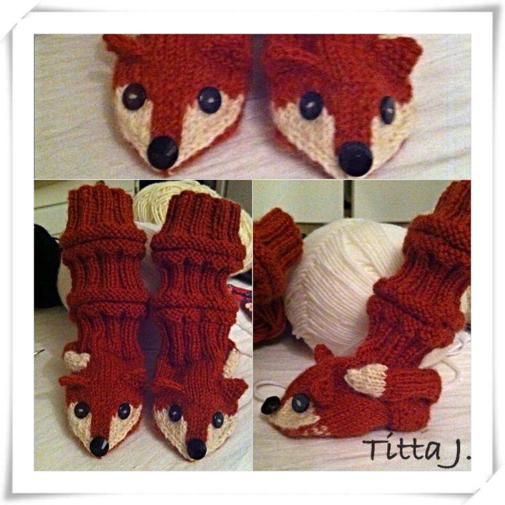 Fox-socks/ kettusukat pikkuiselle