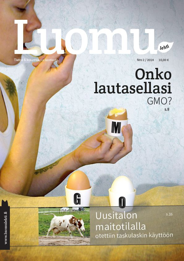 Visual concept and layout 2014. http://www.luomuliitto.fi/luomulehti-22014/