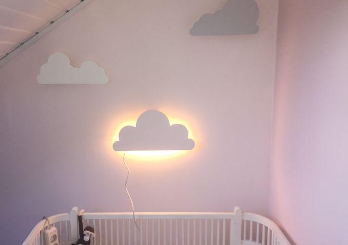 Charlotte er en kreativ mama, og kvinden bag webshoppenAuras lille verden. Her har hun lavet en nem DIY guide til de fineste skylamper. Først skal dufinde de motiver (skyer) du ønsker. Printskye…