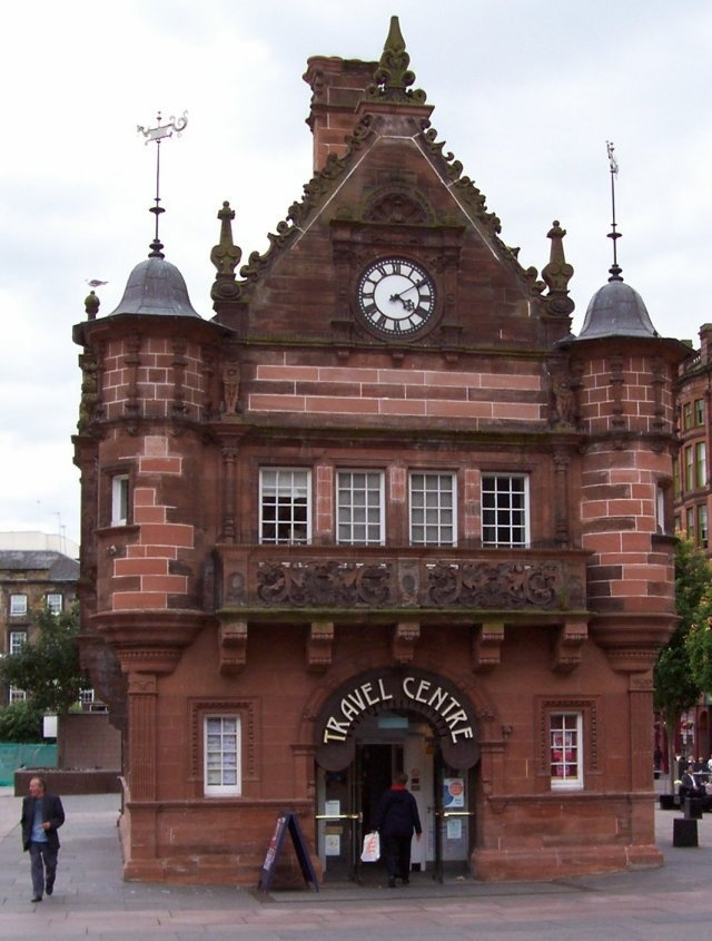 This used to be the Travel Centre in in Glasgow St Enoch Square.