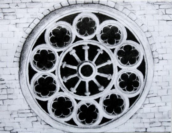 Christchurch Cathedral Rose Window