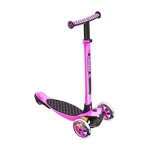 Yvolution Y Glider XL 3 Wheel Scooter - Pink doesn't have to be pink