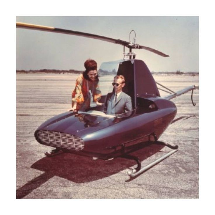 RotorWay Javelin Personal Helicopter, B.J. Schramm