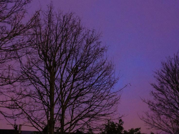 Evening sky of Jan 1st, 2016 by NamYoon Kim - Photo 134332289 - 500px