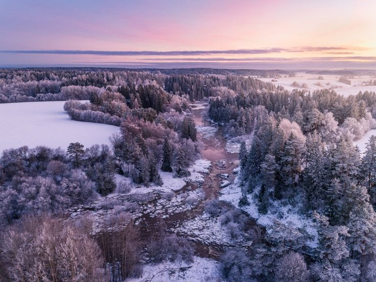 River Aurajoki in Lieto, Finland - Timo Oksanen (@timoksanen) | Twitter