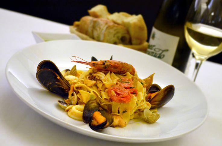 Restaurant Bresto - new menu 2017 - TAGLIATELLE FRUTTI DI MARE