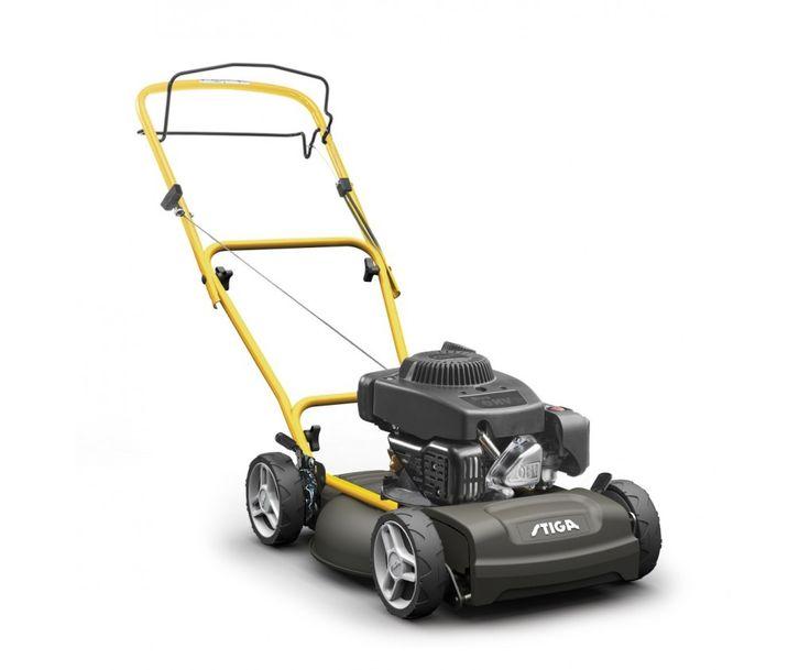Stiga Multiclip 47S Blue Petrol Mulching Lawn Mower