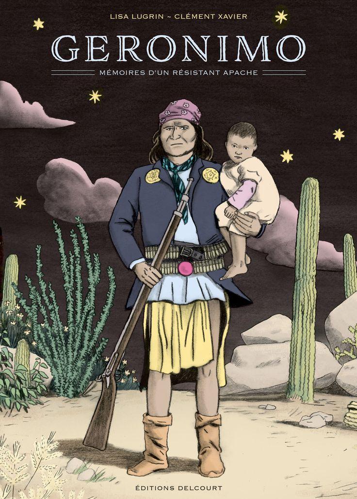 Entre le reportage et la biographie dessinée, le nouveau roman graphique de deux jeunes auteurs talentueux. Geronimo, le grand guerrier