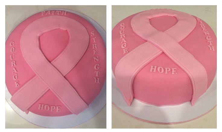 #pinkribboncake
