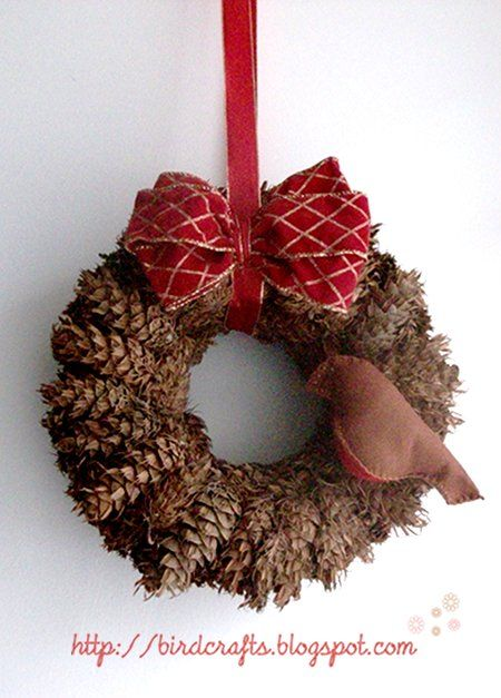 17 best images about pinecones on pinterest sprays - Pliage serviette pomme de pin ...