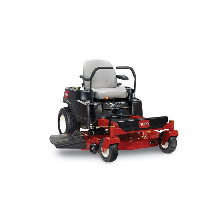 Toro 74760 TimeCutter MX4250 Zero Turn Lawn Mower Review - https://sleequipment.com/news/toro-74760-timecutter-mx4250-zero-turn-lawn-mower-review/