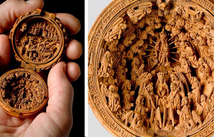 Эти изделия 16 века настолько миниатюрны, что исследователи используют рентген