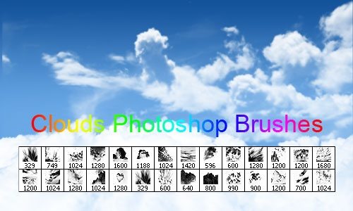 Clouds Photoshop Brushes Download free: Cloud Photoshop Brushes, Camera, Clouds Photoshop Brushes