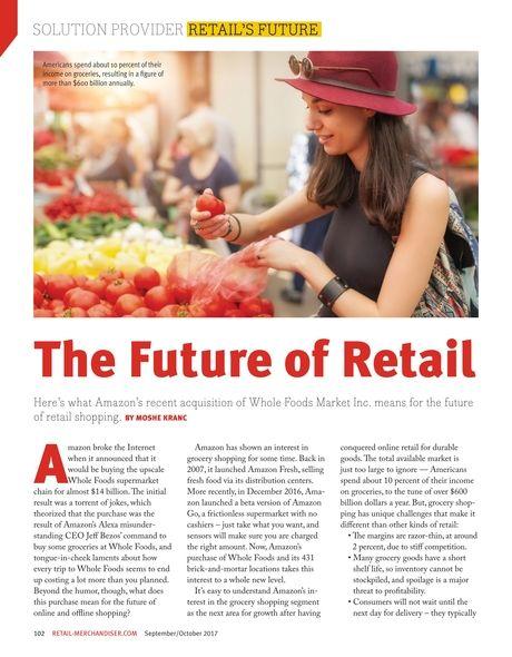 Retail's Future. #solution #solutionprovider #retail