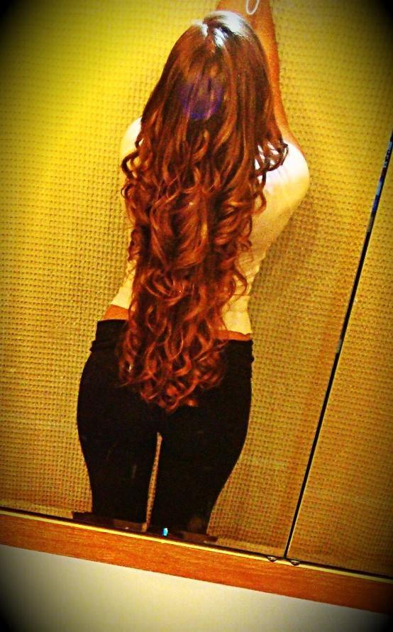 långt hår bdsm rött hår
