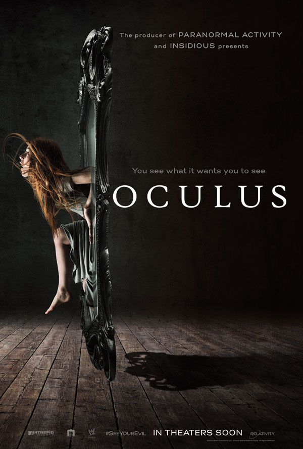 Oculus - New Movie Poster 2 - Hell Horror.  Absentia was only the beginning.  Mike Flanagan is the new horror threat.
