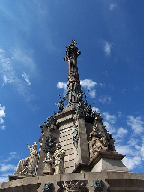 Monumento a Colón, Barcelona, Spain  https://www.stopsleepgo.com/Offers/GDY49TXXTFSO?location=Barcelona=2.228010=41.469576=2.069526=41.320004=1=20_content=buffer90d04_source=buffer_medium=twitter_campaign=Buffer