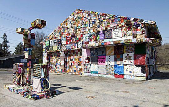 Jennifer Marsh The Gas Station Project 5 urban textile artists