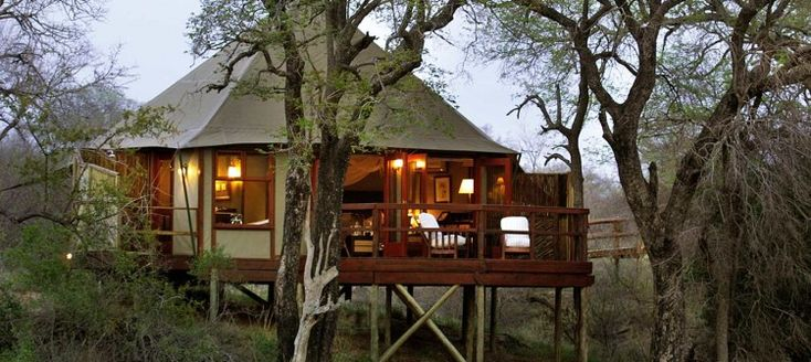 Hamiltons Tented Camp continues the safari tradition of a bygone era, incorporating comfort and luxury in the serenity of the African bush. This exclusive private lodge in the world-renowned Kruger National Park has just 6 private luxury tents.