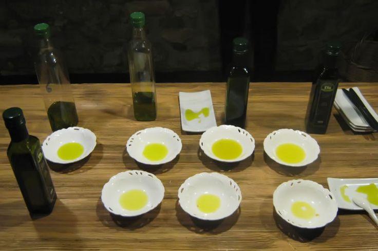 oil tasting