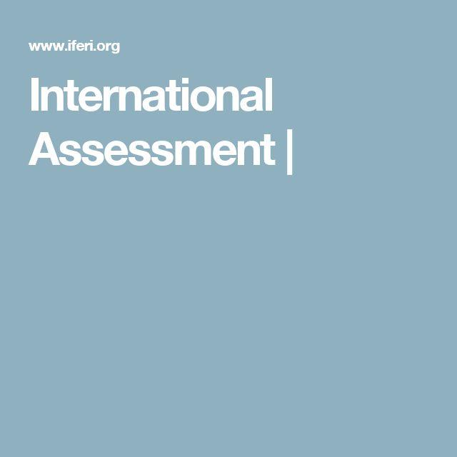 International Assessment |