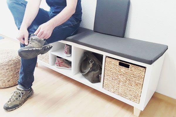 Ikea Kallax Als Sitzbank Bequem Und Stylisch Kallax