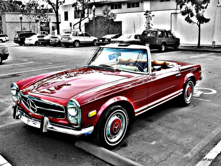 Mercedes-Benz SL Roadster W113 by Thomas K. on 500px – # 500px #on #MercedesBe …  – Classic Cars