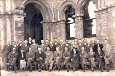This photo was taken during the 1932 meeting of the members of the Newspaper Press Union which also took place in Grahamstown. The establishment of a central advertising office was again on the agenda, but this idea only materialised 18 years later, in 1950 when Capro was established.