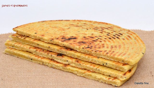 Saveurs et Gourmandises: Galette kabyle.