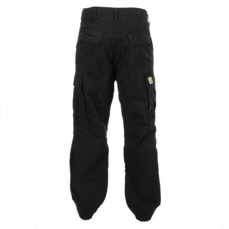 Carhartt Cargo Pants Rinsed in Black for Men