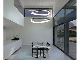 LED aluminium pendant lamp SOFT DELTA | Pendant lamp