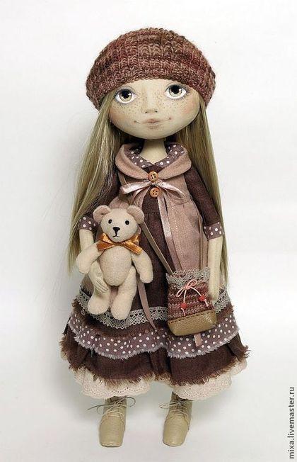 Яна - кукла интерьерная,кукла текстильная,кукла ручной работы,кукла в подарок
