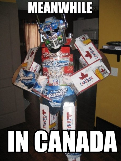 Meanwhile in Canada...lol!