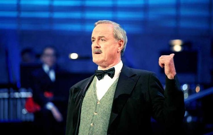 A letter to the US from John Cleese -An die Bürger der Vereinigten Staaten - bilingual, english part on second half of page