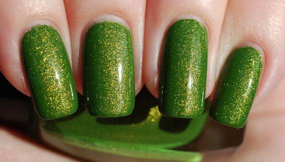 Lightning Lime Nail Polish 15ml 5oz by ModLacquer on Etsy, $9.50