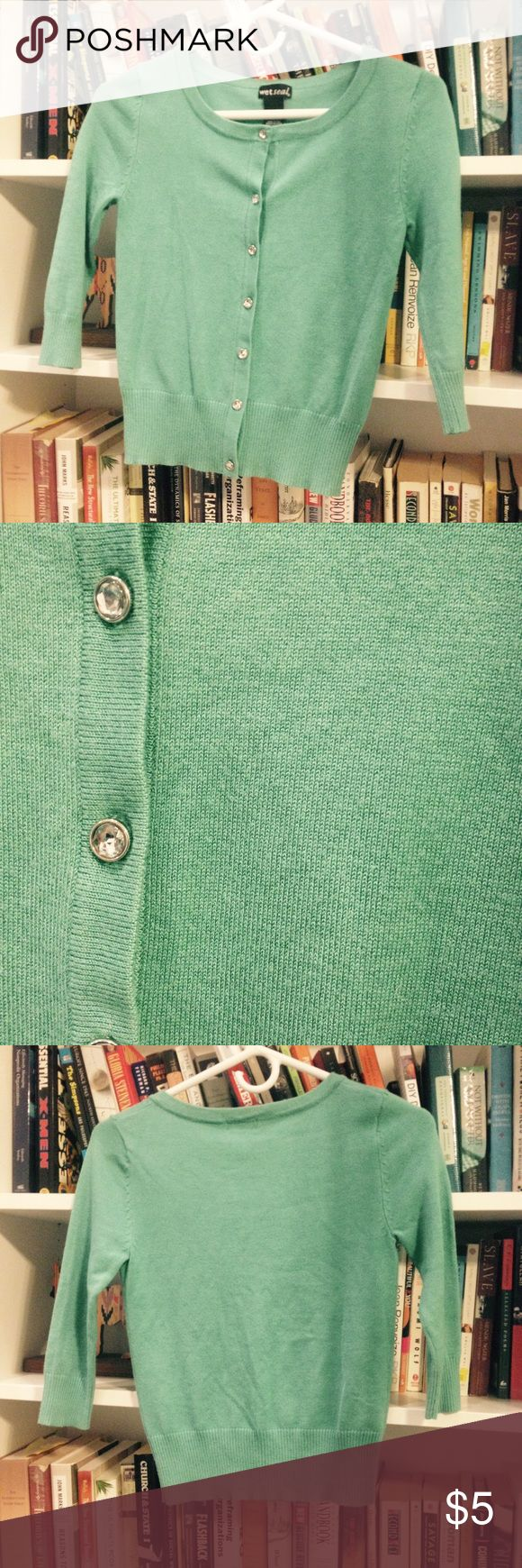 Wet Seal teal cardigan Wet Seal teal cardigan Wet Seal Sweaters Cardigans