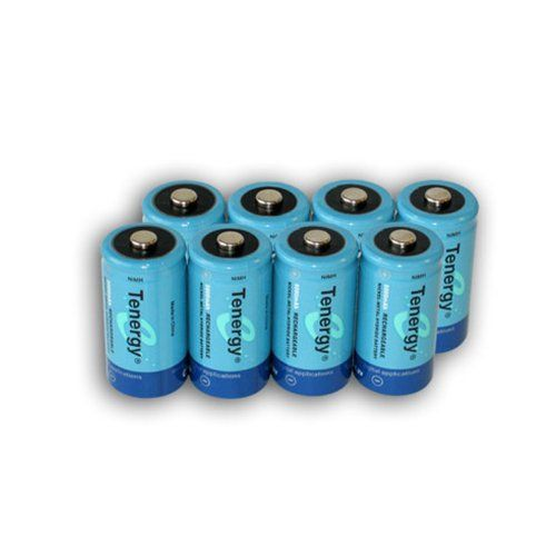 8 pcs of Tenergy D Size 10,000mAh High Capacity High Rate NiMH Rechargeable Batteries $59++ Amz