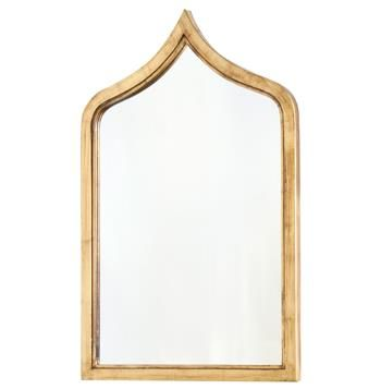 Putrajaya Global Bazaar Gold Frame Wall Mirror. #kathykuohome