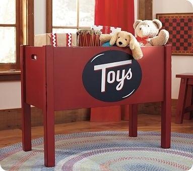 Rustic Toy Box