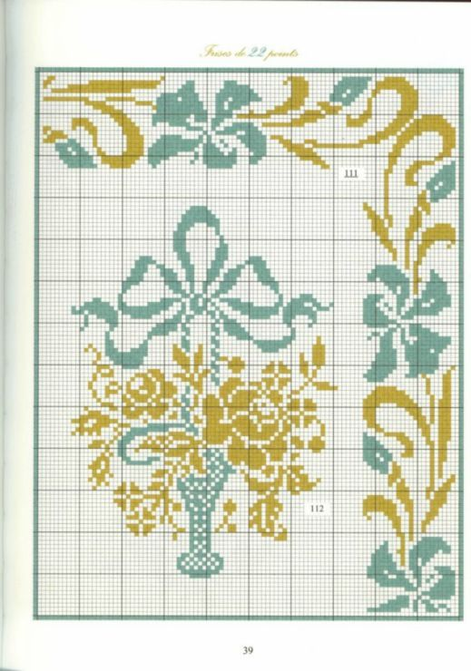 Teal & Gold Borders 28