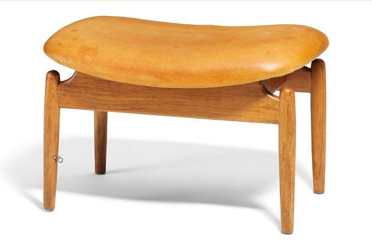Finn Juhl, stool/ ottoman, teak