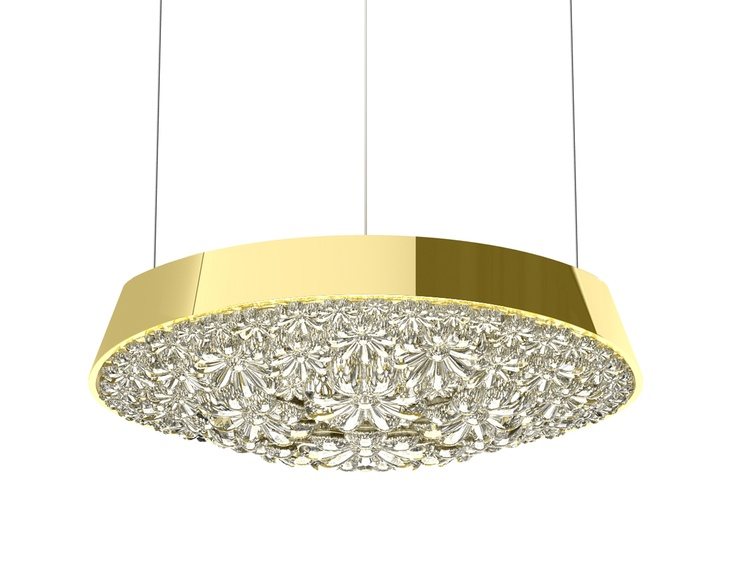 Valentine Flat Suspended 60 Gold by Marcel Wanders for Moooi