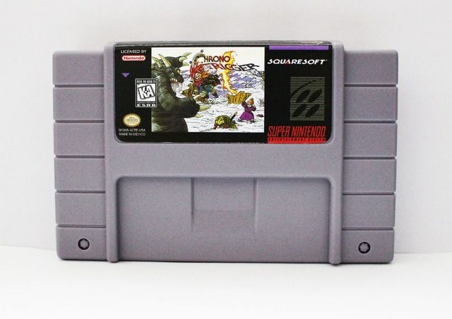 Chrono Trigger USA Version 16 bit Big Gray Game Card For NTSC Game Player