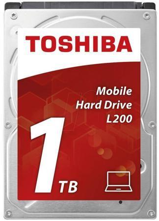 """Toshiba L200 2.5"""" 1Tb  — 4160 руб. —  Жесткий диск Toshiba L200 2.5"""" – компактная модель, предназначенная для установки в ноутбуки, портативные рабочие станции и другие подобные компьютеры. Кроме того, такое устройство может использоваться в качестве внешнего накопителя при подключении к специальному переходнику. Высокое быстродействие. При создании винчестера используются технологии перпендикулярной записи и туннельного магнитосопротивления. Они помогают поддерживать высокую скорость…"""
