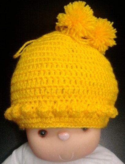 hand made crochet  cap for baby от BaByPrOdUcTsByGaLiNa на Etsy