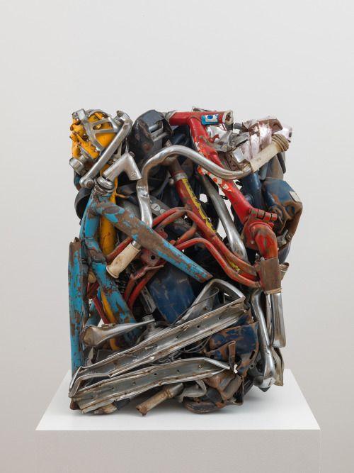 "César Baldaccini [France] (1921-1998) ~ ""Moped... #Conceptual Art #концептуальное искусство #Arte concettuale #Art conceptuel #Arte conceptual #Konzeptkunst 👍🎨 - https://wp.me/p7Gh1Z-19p #kunst #art #arte #sztuka #ਕਲਾ #konst #τέχνη #アート"
