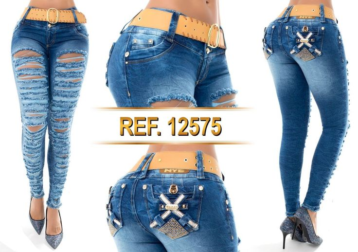 Jean push-up 12575