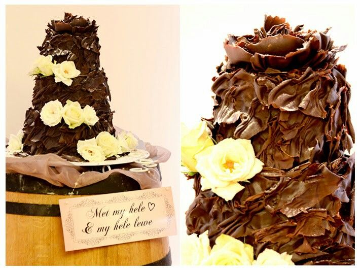 Kanye Hunt ...Lekkerste Sjokolade Karamel Fudge & Mousse Lint koek ooit!!