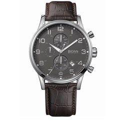 Relógio masculino Hugo Boss Couro Marrom Masculino - 1512570